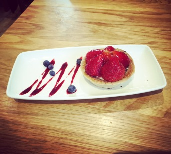 Delicious strawberry tart